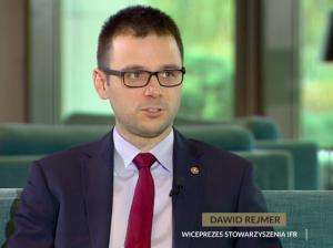 Dawid Rejmer w Polsat News