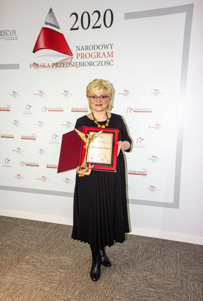 Menedżer Roku 2020 Małgorzata Rejmer