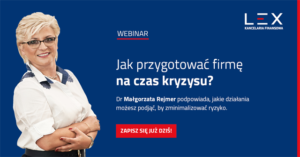Webinar Jak przygotować firmę na czas kryzysu